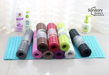 Bathlux Non Slip Suction Rubber Blocks Design Bath Mat Door Mat