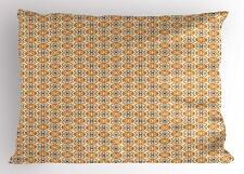 Retro Design Pillow Sham Decorative Pillowcase 3 Sizes Bedroom Decor Ambesonne