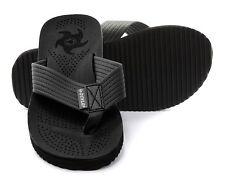 Dunlop EVA Toepost Black Mens Beach Flip-Flops