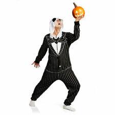 Nightmare Before Christmas Jack Skellington Lounger Kigurumi Bodysuit Halloween