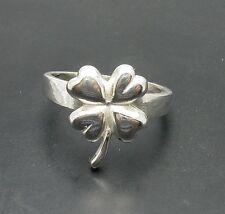 Sterlingsilber ring Klee massiv  925 R000886 EMPRESS