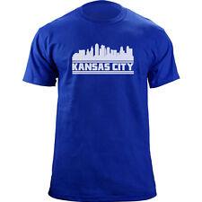 Original Kansas City Skyline T-Shirt - Baseball Team Colors