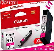 TINTA MAGENTA CANON CLI-571M XL ORIGINAL CARTUCHO ROSA IMPRESORA CLI-571XLM