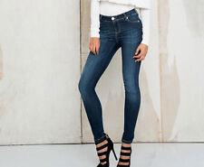 By Alina Damenjeans High Waist Jeans Hose Jeanshose Röhrenjeans Blau 32-XXS