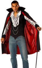 Mens Cool Vampire Fancy Dress Costume Deluxe Vampire Vamp Halloween Costume