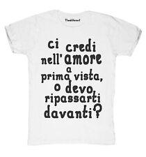 Nuevo camiseta Fuego Hombre Ci Credi Nell Amor Idea De Regalo