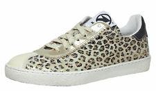Momino Leder Sneaker Schuhe Mädchen 3440N Leo Gr. 35 - 40 Neu