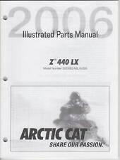 2006 ARCTIC CAT Z 440 LX  SNOWMOBILE PARTS MANUAL