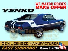 1970 Chevrolet Nova Yenko Deuce Decals & Stripes Kit