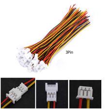 20 sets / pack Micro JST 1.25mm  Mâle Femelle Connecteur Plug Avec Câbles 100mm