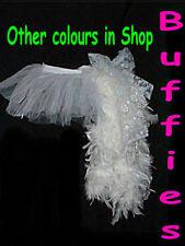 Halloween Tutu Burlesque Feathers Bustle Skirt Gothic Tutu Hen 8-18  Colours