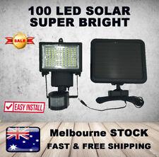100LED Solar Motion Sensor Security Light FLOOD Garage Outdoor Lamp Yard Garden