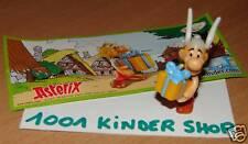 """KINDER DE095 DE 95 """"ASTERIX 50"""" VARIANTE TETE + BPZ"""