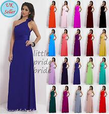 A-Line/Princess Full-Length Chiffon Evening Prom Bridesmaid Dress(JS38)