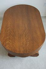 Antique Furniture American Empire Victorian Tiger Quatersawn Oak Coffee Table