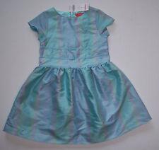 NWT Gymboree Petit Four 4 4T Pastel Blue Green Purple Stripe Silk Easter Dress