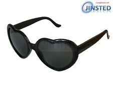 Lolita Black Heart Shaped Sunglasses Girls Womens Teenager Small Adult TH005