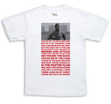 John Barnes Rap World In Motion Italia 90 T-Shirt England World Cup Cult Song