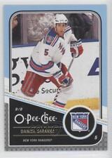 2011-12 O-Pee-Chee #495 Dan Girardi New York Rangers Hockey Card