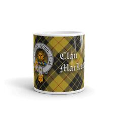 MacLeod of Lewis Clan Crest Coffee / Tea Mug - Scottish Cup 10oz / 295ml