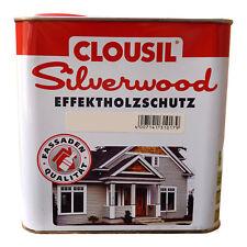 7,12€/L Clou Clousil Silverwood Effektholzschutz 2,5L Holzlasur Holzschutz
