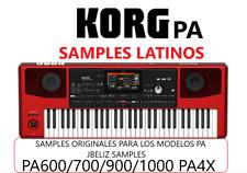 Samples Latinos Para Korg PA700/900/1000/PA4X
