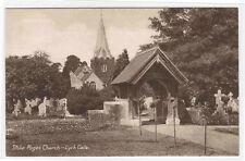Stoke Poges Church Lych Gate Buckinghamshire UK postcard