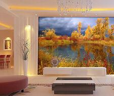 3D Paille Arbre 452 Photo Papier Peint en Autocollant Murale Plafond Chambre Art