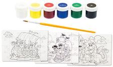 Ausmal-Puzzel Drache, Piraten, Wikinger aus Holz zum selbst Malen & Gestalten