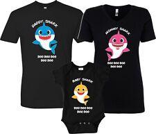 828c7c2b Baby Shark Mommy Daddy Shark Doo Doo Doo Party Family Shark birthday bl T- Shirts