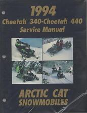 1994 ARCTIC CAT SNOWMOBILE CHEETAH 340-CHEETAH 440 SERVICE MANUAL P/N 2255-013