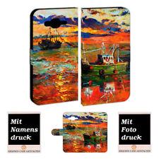 Samsung Galaxy J7 Personalisierte Handy Hülle mit Gemälde Foto Bild Text Druck