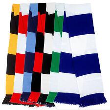 Schal, Blockstreifen, Stadionschal, diverse Farben