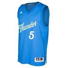 Victor Oladipo OKC Thunder NBA Adidas Blue 2016 Christmas Swingman Jersey