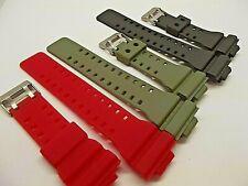 cinturino resina x casio G-Shock vari colori montre straps GA100 GD100 GA110 etc