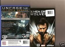 X MEN ORIGINS WOLVERINE PLAYSTATION 2 PS2 PS 2 MARVEL