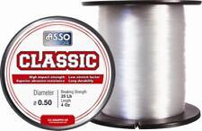 Asso Classic sea fishing line - Clear - 4oz spool - Choose braking strain