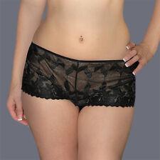 Kendra rain black lace boy shorts lesbian dom