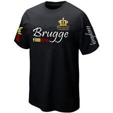 T-Shirt BRUGGE BRUGES VLAANDEREN E BELGIË BELGIUM ultras Maillot Belgique