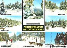 AK, Winterfreuden im schönen Harz, 1979