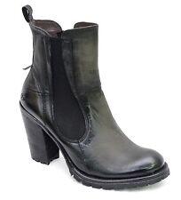 BUNKER bottines boots talons femme DOOM - NB1 Black coloris noir