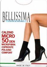 6 Paia di Calzini donna Bellissima in microfibra con bordo comfort art Micro 50