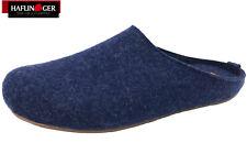 Haflinger Hausschuhe Everest Fundus Jeans Pantoffel Filz Blau NEU 481024-72