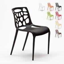 Chaise en polypropylène anti UV design moderne GELATERIA  salle à manger et bar