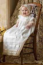Quinn - Lace Christening Dress Heirloom