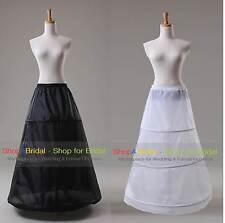 3 cerceau Une robe de mariée en ligne nuptiale Petticoat complet Slip Jupon