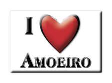 SOUVENIR ESPAÑA GALICIA IMAN MAGNET SPAIN CORAZON I LOVE AMOEIRO (OURENSE)