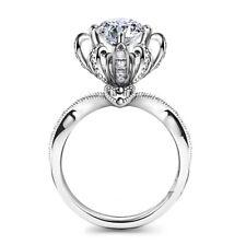 French Designer 2 Carat Simulated Diamond Wedding Bridal Engagement Ring R89
