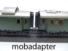 Kupplungsadapter bayrische Märklin Wagen 4135 4136 4137 4139 4140 4142 4143 4144