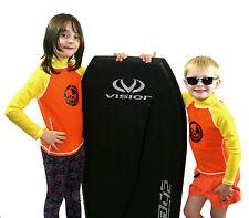 Kids / Child Long Sleeve Rash Vest. SPF UV 50+ ALL SIZES. Strong flatlock stitch